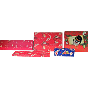 Five Vintage Christmas Boxes