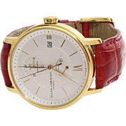 Baume & Mercier Classima Watch   18K Yellow Gold   Vintage Automatic