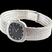Audemars Piguet Ladies Watch   18K White Gold Diamond   Vintage Wrist