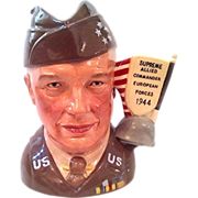 General Eisenhower Prototype Character Jug | Royal Doulton