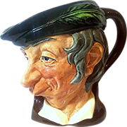 Simple Simon Character Jug | Royal Doulton England | Toby Jug D6374 L.