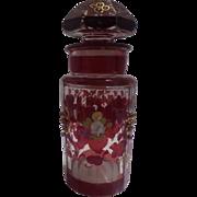 Victorian Dresser Jar