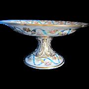 Old Paris Porcelain Compotes
