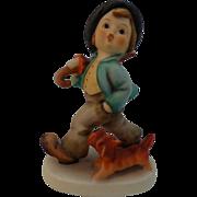 "Goebel Hummel Figurine ""Strolling Along"""