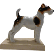 Royal Worcester Terrier Figure