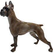 Rosenthal Boxer Dog Figure