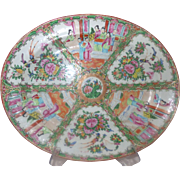 Rose Medallion Large Platter