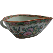Rose Medallion Sauce Boat
