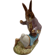 Beswick Beatrix Potter's Mr. Benjamin and Peter Rabbit