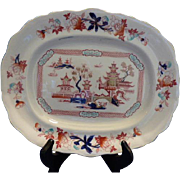 """Tonquin"" small Platter by Burgess and Leigh"
