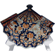 Japanese Imari Fan Plate