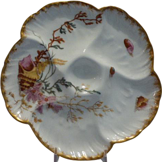 Haviland Oyster Plate