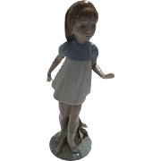 "Lladro ""Girl Walking"""