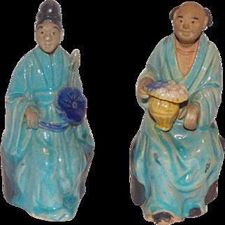 Chinese mud men figures