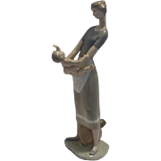"""LLadro figurine """"Mother and Child"""""""