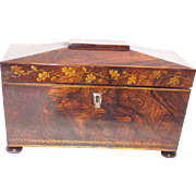 Tea Caddy, English