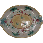 Majolica French Platter