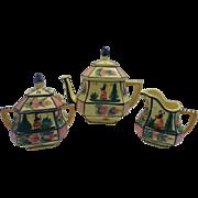 Quimper Tea Set