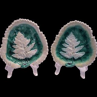 Majolica Leaf Plates