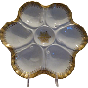 Limoges Oyster/Shell fish Plate
