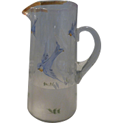 Victorian Hand painted Pitcher