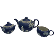 Wedgewood 3 piece tea set