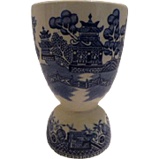 Blue Willow Egg Cup