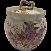 New York and Rudolstadt Biscuit Jar