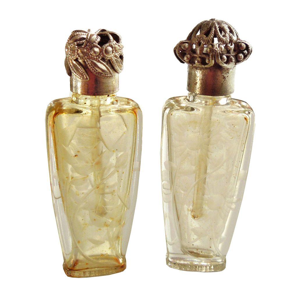 1920's Miniature Parisian Perfume Bottles