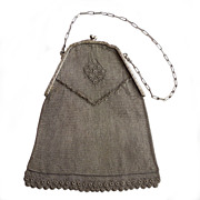 Antique Chain Mesh Bag