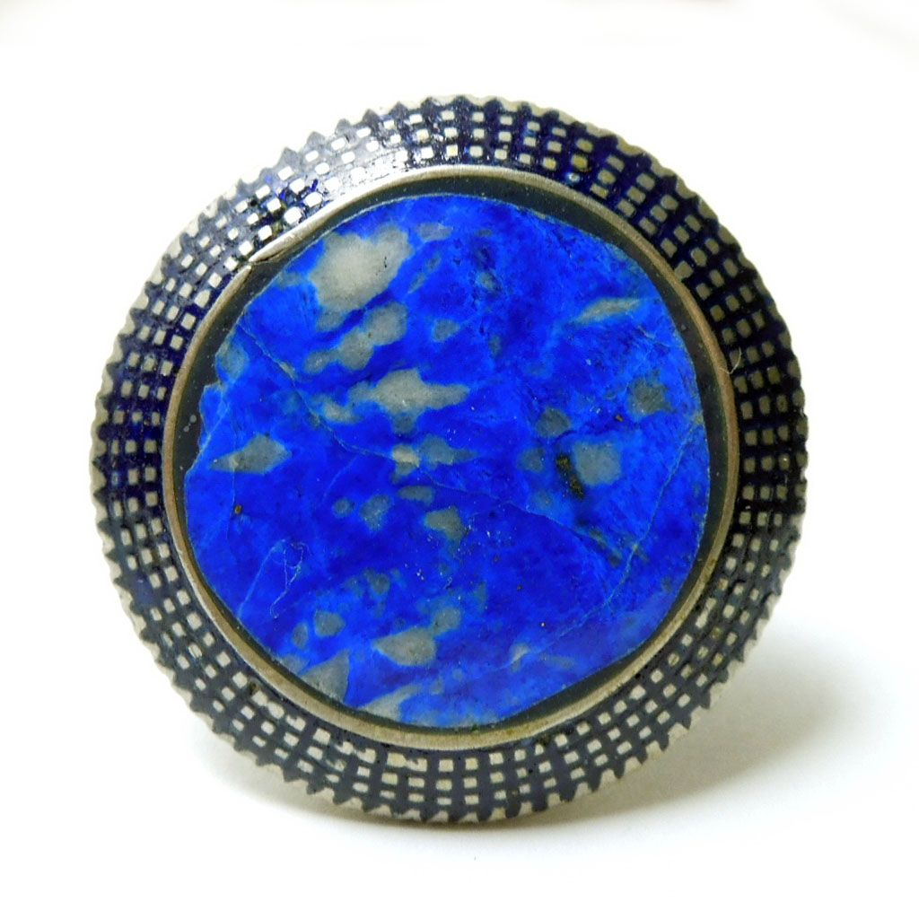 Large Lapis Cocktail Ring