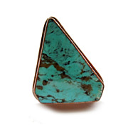 Sterling Native American Turquoise Ring