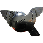 Georg Jensen No. 320 Vintage Flying Bird Brooch