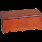 SALE    Mohogany Jewelry Box