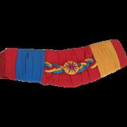 Vintage 1980's Multi Colored Belt