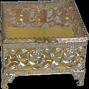 Vintage 1960's Fancy Jewelry Casket/Box