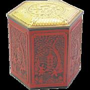 Vintage Chinese Designed Tea Tin