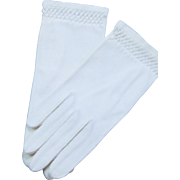 Vintage 150's Very Small Cloth Gloves