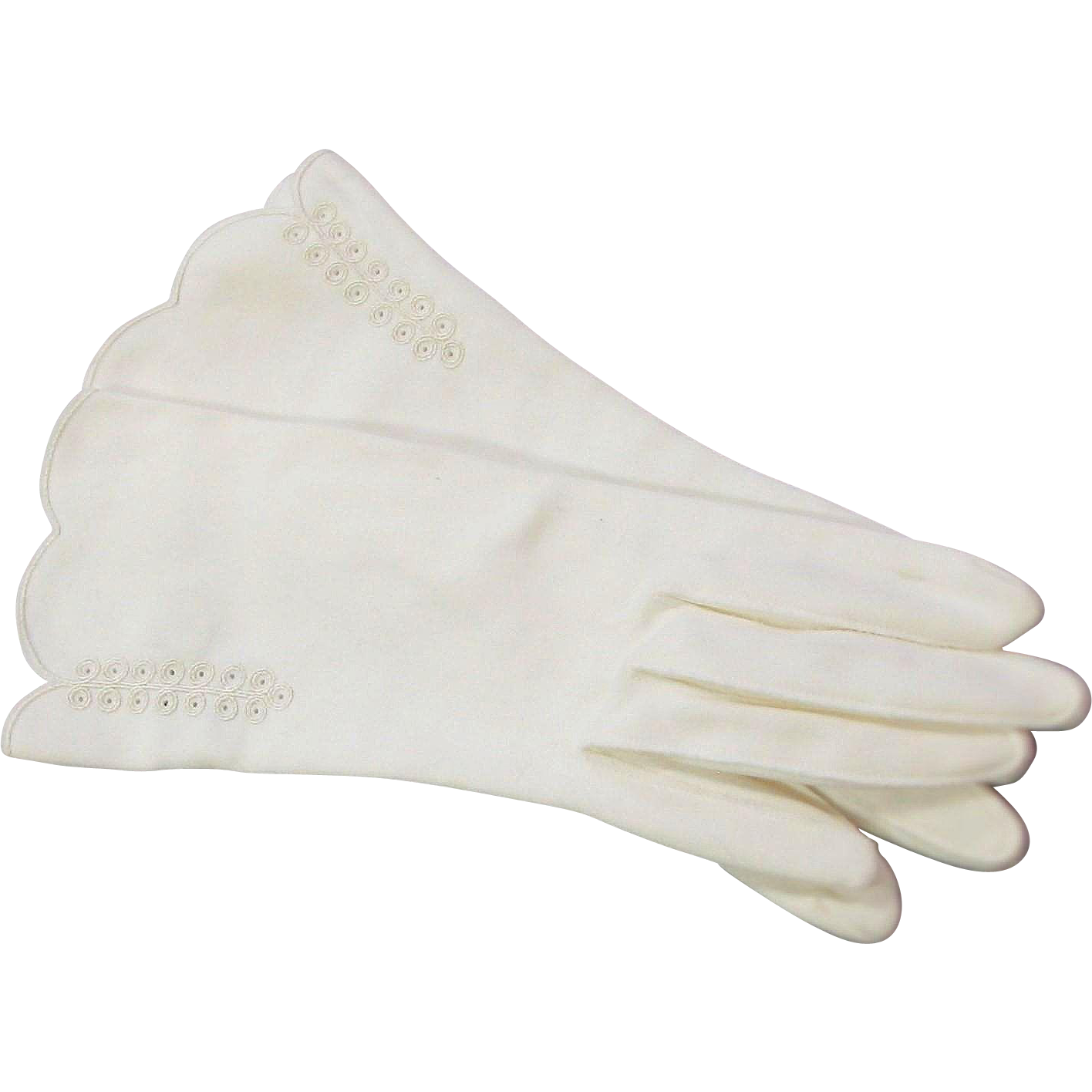 Vintage Cotton Gloves 113