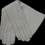 Vintage 1960's Viola Weinberger Kid Leather Gloves