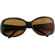 Vintage Fendi Sun Glasses, Fendi Tan & Black Sun Glasses