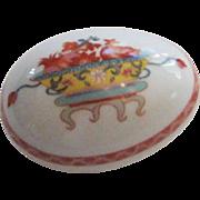 Vintage Bernardaud Limoges Egg Porcelain Box
