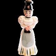 Vintage Chapeau Shopp Sprinkler For Ironing, 1890's Lady Fabric Sprinkler, China Sprinkler Vintage, Lady Laundry Sprinkler