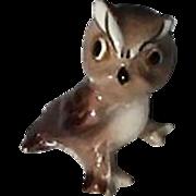 Tiny Miniature Vintage Japanese Owl