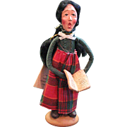 "Vintage Caroler Belle, ""Melancholy Dollies"" From Character Collectible Co."