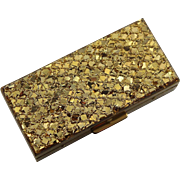 Vintage Glitter Vanity Box