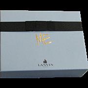 "Paris France Lanvin ''Me"" Perfume, Shower Gel, Body Lotion Gift Box Set"