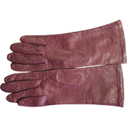 Vintage New Kid Leather Gloves Made In Italy
