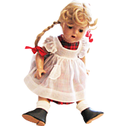 Vintage Madam Alexander Princess Elizabeth Doll Made OF Composition With Original Outfit In Perfect Condition