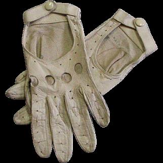 Vintage Kid Leather Gloves